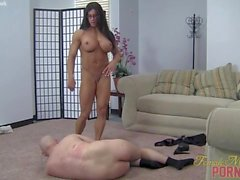 big boobs femdom muscular women female muscle network her slave