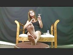 big tits mature smoking