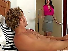 blowjob cougar ffm fellation