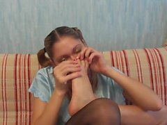 amateur foot fetish russian