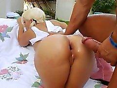 anal ass babe blonde