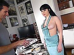 anal big boobs blowjob brunette