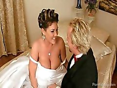 big tits bride cheating