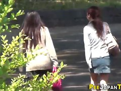 asian fetish hd outdoor public