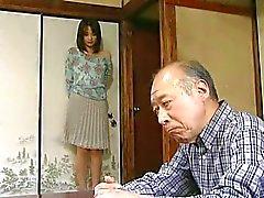 par asiatisk japansk unga och gamla censureras