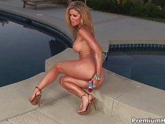 heather vandeven bikini blonde caucasian