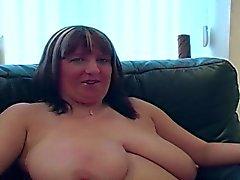 bbw big boobs blowjob brunette