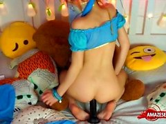 anal masturbation redhead