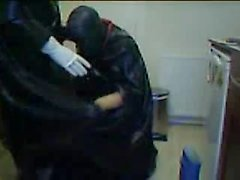 Another rubber session with Rochdale Tony in the chair. Part 1