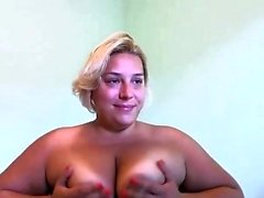 amateur bbw big boobs blonde