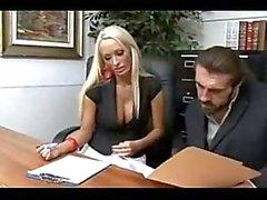 grandi tette ufficio segretari