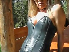 stefani boots outdoor latex blonde