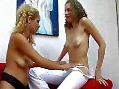 brazilian lesbians masturbation