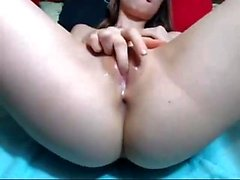 amateur babe blonde european fingering
