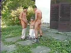 anal gruppen-sex reift omas