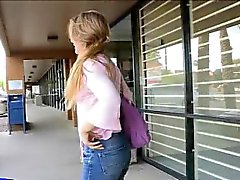 Brianna _ Teen amateur babe flashing in public