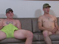 Marines Ricky and Scott
