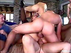 dp butt gangbang ass-fuck