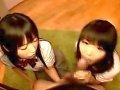 asian blowjob japanese pov threesome