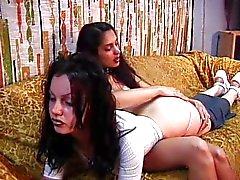 lesbisch slavernij kaukasisch latex