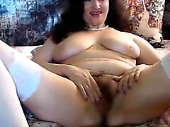 beautiful mature webcam sexy body and hairy pussy show