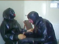 Rubber session with Rochdale Tony part 1 with Tony in the chair.