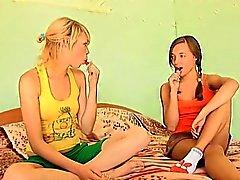 amateur bebé lesbiana