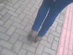 voyeur des vidéos hd jeans