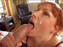 cumshots facials handjobs redheads