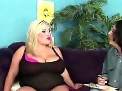 bbw big boobs blonde fat