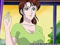 pareja hentai dibujos animados