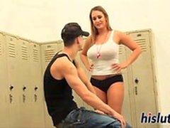 Ravishing babes enjoy filming their sexy scene