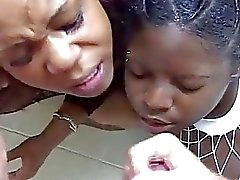 ebony face fucked