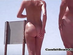 candid beach channel plage blond des vidéos hd nudiste