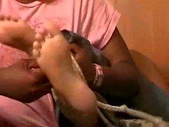 black tickling ebony
