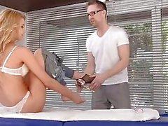 anale massaggio oliato