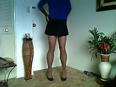 sissy slut in sass skirt