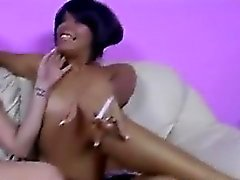 babe brunette lesbian masturbation small tits