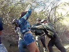Manuel ferrara police Kayla West was caught lusty patrool du