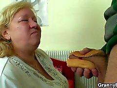 old mature granny