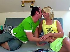 blonde blowjob doggystyle german