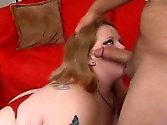 bbw sarışın oral seks