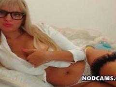 amateur big boobs blonde masturbation nipples