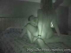 webcam de visão noturna casal amador