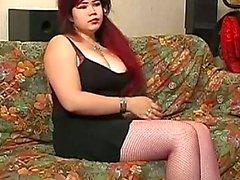 bondage chubby redheads