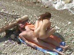 amateur strand grote borsten