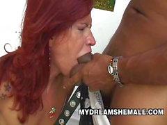 anal oral seks transeksüel büyük redhead