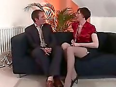Stockings mature lady in ...