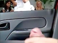 piscando câmaras ocultas nudez em público