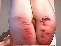 lezdom spanking crying
